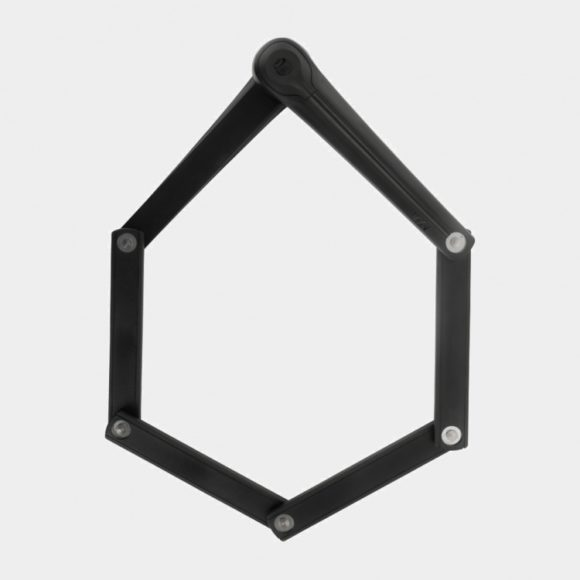Vikbart lås AXA Fold, 100 cm, inkl. fäste