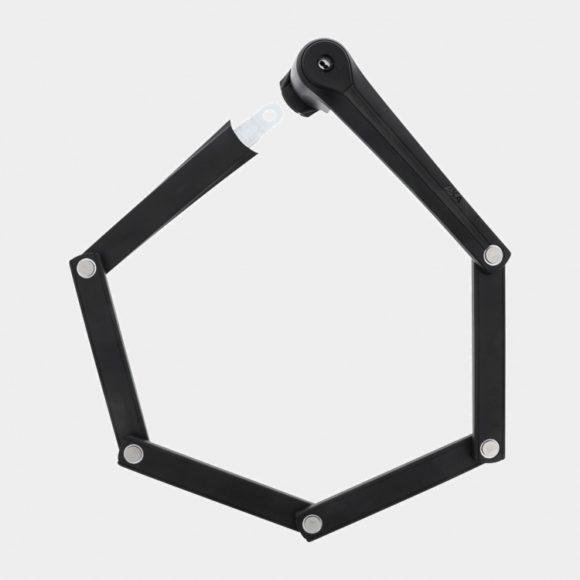 Vikbart lås AXA Fold Pro, 100 cm, inkl. fäste