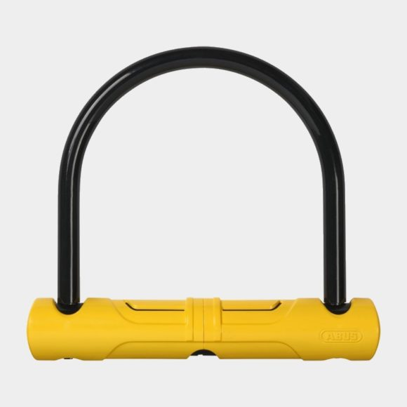 Bygellås ABUS Ultra Scooter 402, 135 mm, gul, inkl. fäste (SH 34)