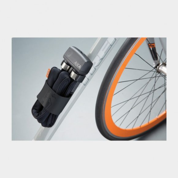 Vikbart lås AXA Foldable 1000, 100 cm, inkl. fäste