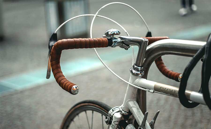 fin cykel förtjänar bra lås
