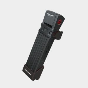 Vikbart lås Trelock FS 200 Two.GO L, 100 cm, inkl. hållare