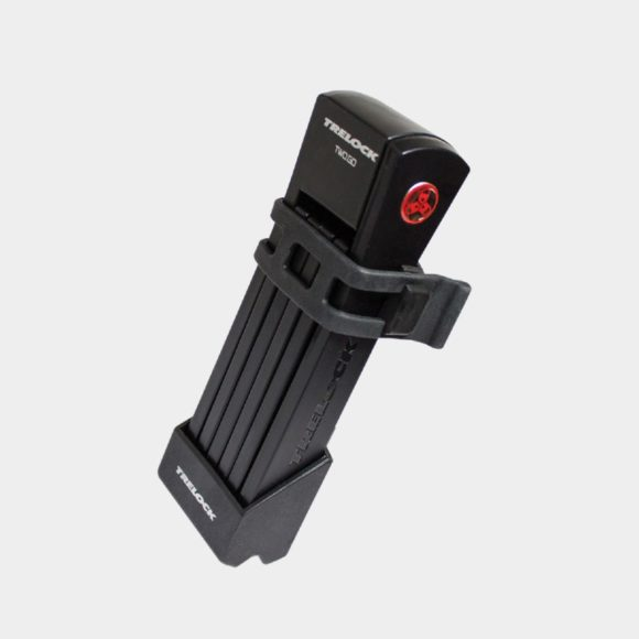 Vikbart lås Trelock FS 200 Two.GO, 75 cm, inkl. hållare