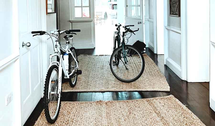cyklar inomhus