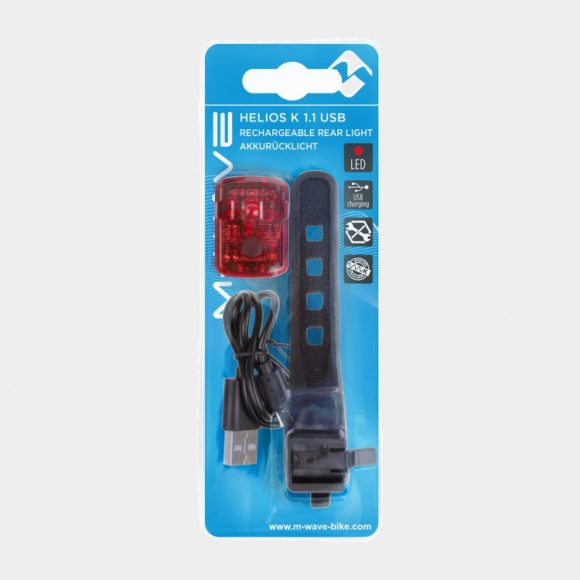 Baklampa M-Wave Helios K 1.1 USB SL