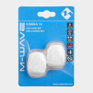 Lampset M-Wave Cobra IV, vit