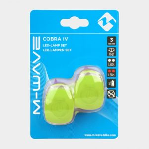 Lampset M-Wave Cobra IV, grön