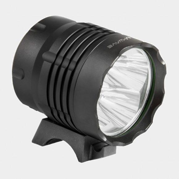 Framlampa M-Wave Apollon Ultra 1200 + pannband + hjälmfäste
