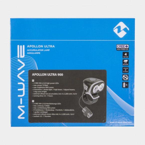 Framlampa M-Wave Apollon Ultra 900 + pannband