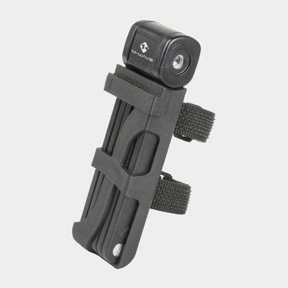 Vikbart lås M-Wave F 875/6, 87.5 cm, inkl. fäste
