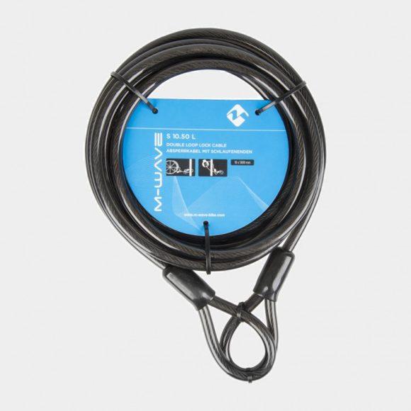 Låsvajer M-Wave S 10.50 L, 500 cm, Ø10 mm