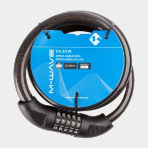Spirallås M-Wave DS 20.18, 180 cm, Ø20 mm
