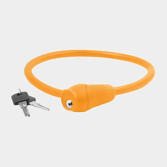 Vajerlås M-Wave S 12.6 S, 60 cm, Ø12 mm, orange