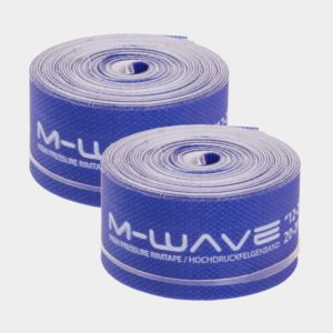 "Fälgtejp M-Wave High Pressure 12-29"", 16 mm, 2 meter, 2-pack"