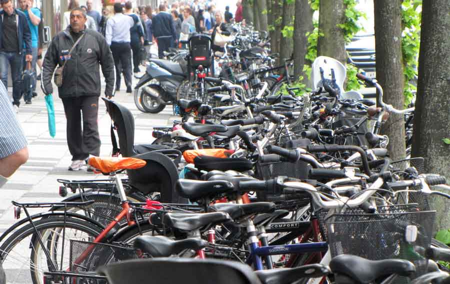 cykelparkering