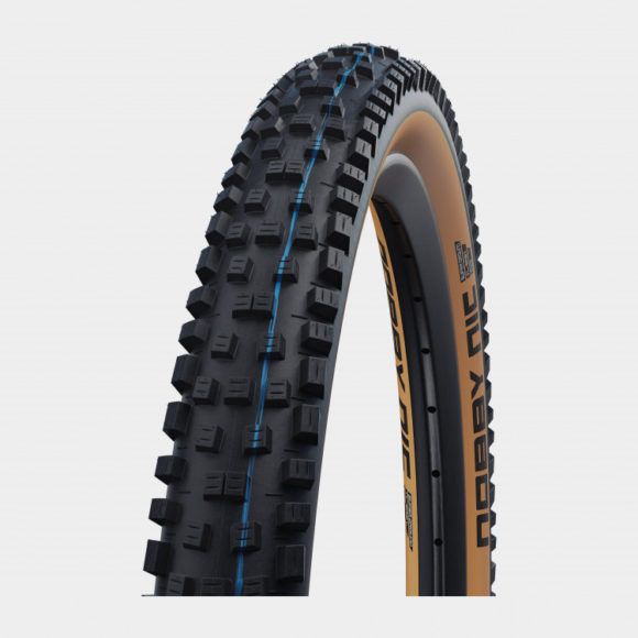 Däck Schwalbe Nobby Nic ADDIX SpeedGrip Super Ground TLE Classic Sidewall 62-559 (26 x 2.40) vikbart