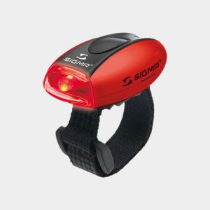 Baklampa Sigma Micro, röd
