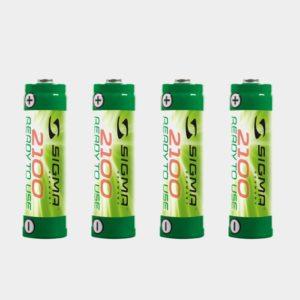 Batteri AA NIMH, 2100 mAh, 4-pack
