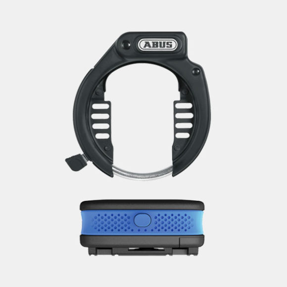 Ramlås ABUS Amparo 485 LH, NR + Larm ABUS Alarmbox, blå