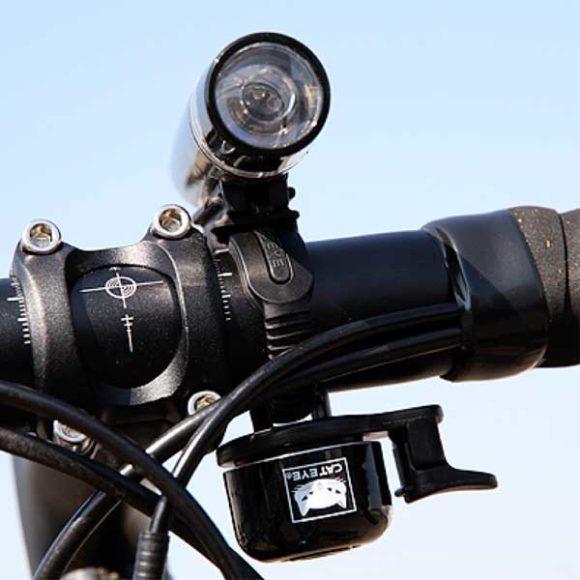 Ringklocka CatEye OH-1400, Ø33 mm, aluminium, svart