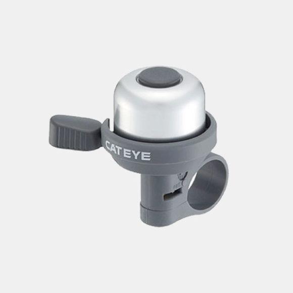 Ringklocka CatEye PB-1000AL, Ø33 mm, aluminium, silver