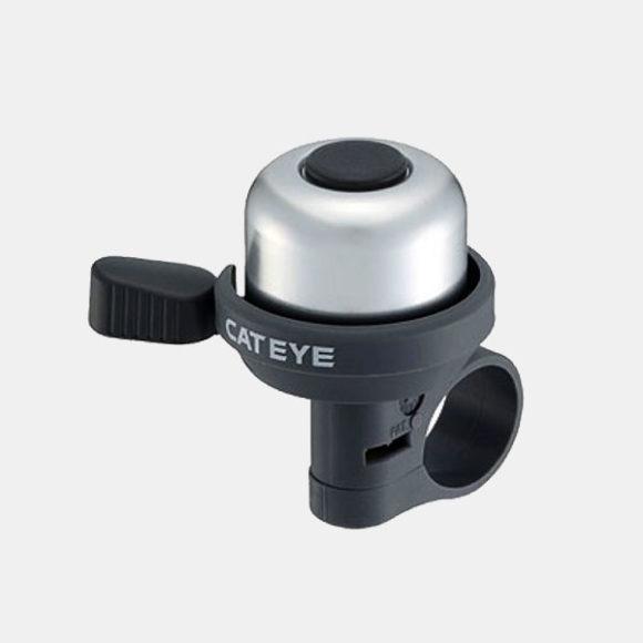 Miniringklocka CatEye PB-1000AL, Ø33 mm, aluminium, silver