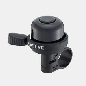Miniringklocka CatEye PB-1000AL, Ø33 mm, aluminium, svart