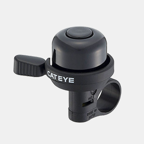 Ringklocka CatEye PB-1000AL, aluminium, svart