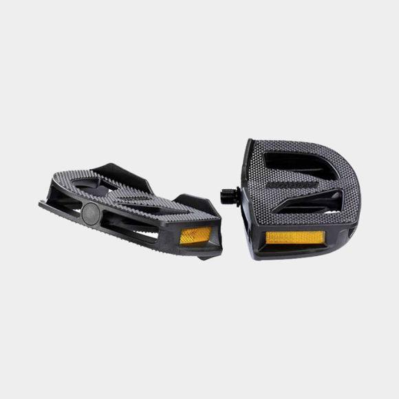 Pedaler Ergotec EP-1, 1 par, Standardpedaler, svart