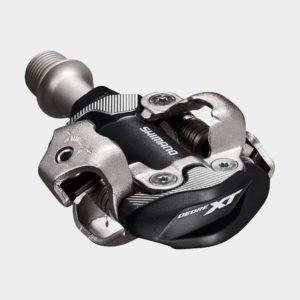Pedaler Shimano XT M8100, 1 par, SPD, inkl. klossar