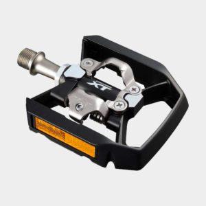 Pedaler Shimano XT T8000, 1 par, Kombipedal, inkl. klossar