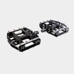 Pedaler Tatze MC-AIR, 1 par, Plattformspedal, svart