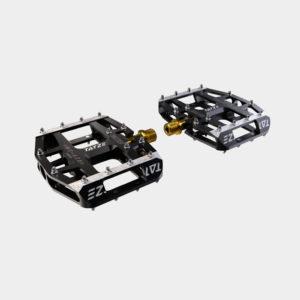 Pedaler Tatze MC-AIR Titan, 1 par, Plattformspedal, svart