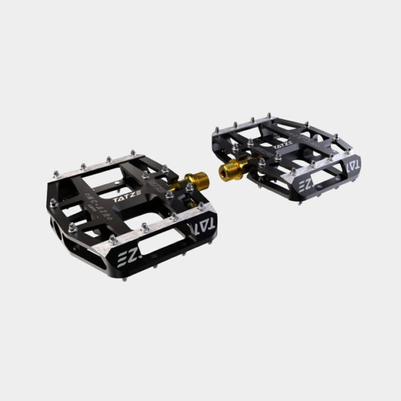 Pedaler Tatze MC-AIR Titan, 1 par, Plattformspedaler, svart