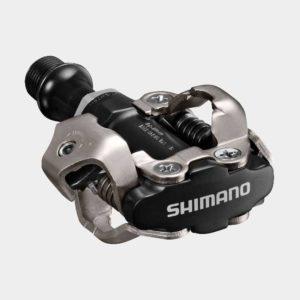 Pedaler Shimano M540, 1 par, SPD, svart, inkl. klossar