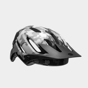 Cykelhjälm Bell 4Forty MIPS Matte/Gloss Black Camo, Small (52 - 56 cm)