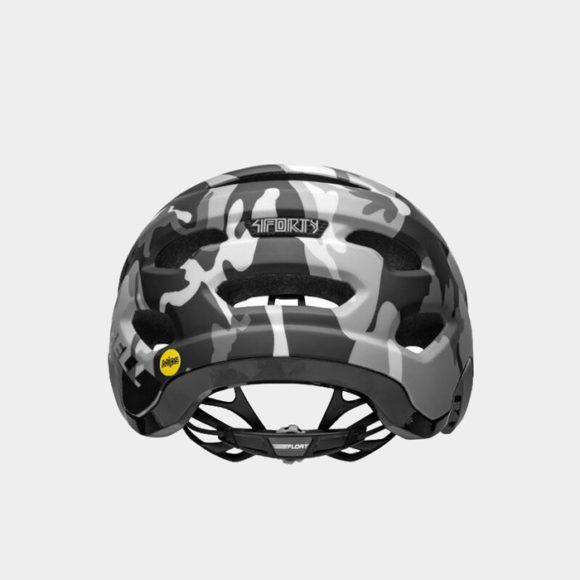 Cykelhjälm Bell 4Forty MIPS Matte/Gloss Black Camo, Large (58 - 62 cm)