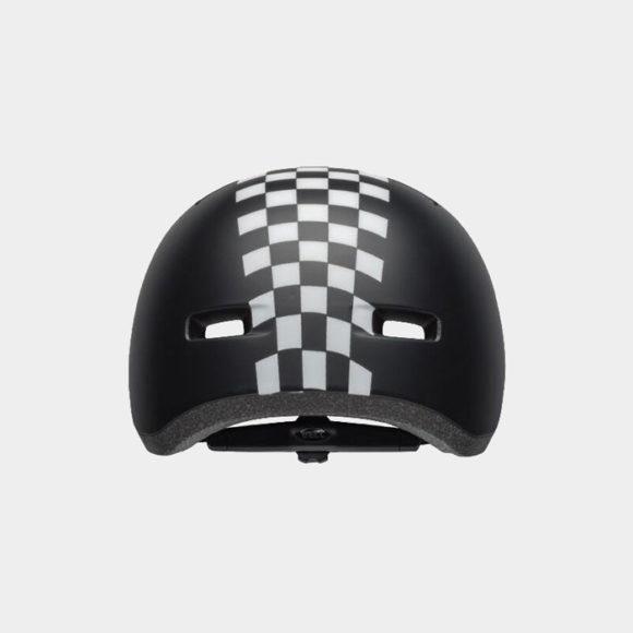 Cykelhjälm Bell Lil Ripper Matte Black/White Checkers, Universal Toddler (45 - 52 cm)