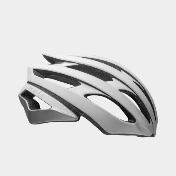 Cykelhjälm Bell Stratus MIPS Matte/Gloss White/Silver, Medium (55 - 59 cm)