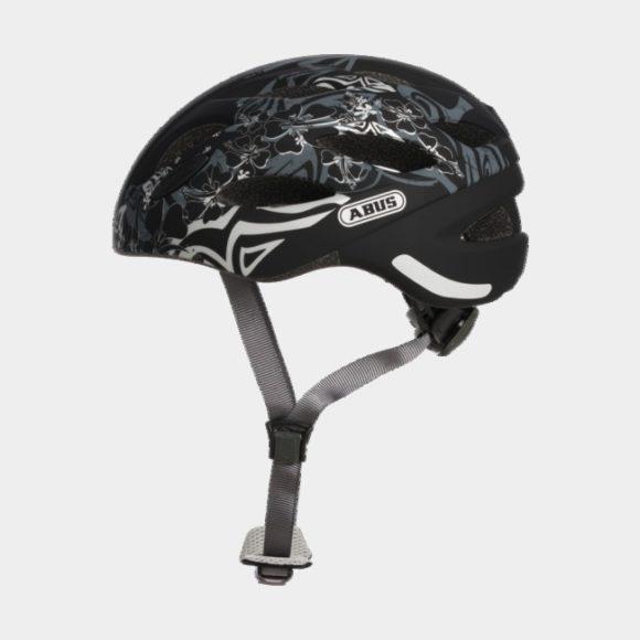 Cykelhjälm ABUS Lane-U Maori Silver, Large (56 - 62 cm)