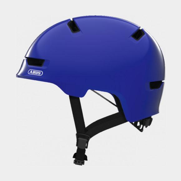 Cykelhjälm ABUS Scraper 3.0 Kid Shiny Blue, Medium (54 - 58 cm)