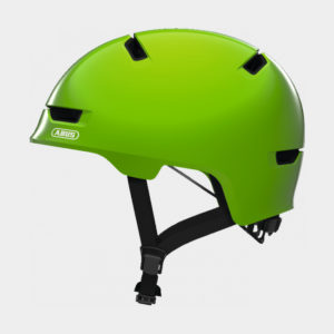 Cykelhjälm ABUS Scraper 3.0 Kid Shiny Green, Medium (54 - 58 cm)