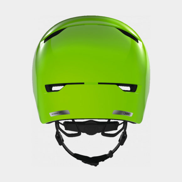 Cykelhjälm ABUS Scraper 3.0 Kid Shiny Green, Small (51 - 55 cm)