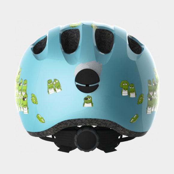 Cykelhjälm ABUS Smiley 2.0 Blue Croco, Medium (50 - 55 cm)