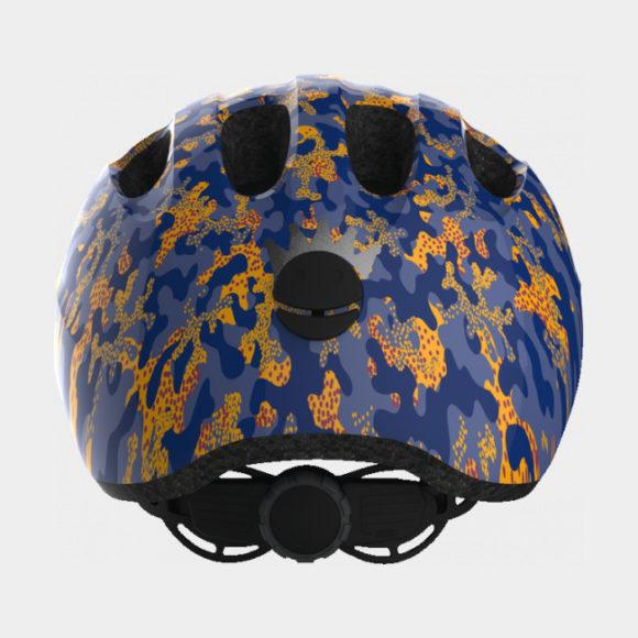 Cykelhjälm ABUS Smiley 2.0 Camou Blue, Medium (50 - 55 cm)