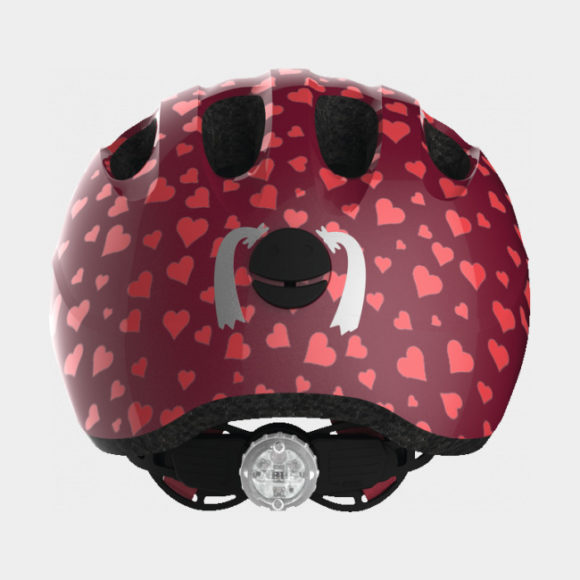Cykelhjälm ABUS Smiley 2.0 Cherry Heart, Small (45 - 50 cm)
