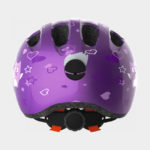 Cykelhjälm ABUS Smiley 2.0 Purple Star, grönt spänne, Medium (50 - 55 cm)