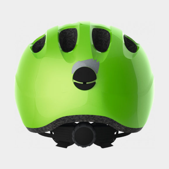 Cykelhjälm ABUS Smiley 2.0 Sparkling Green, grönt spänne, Small (45 - 50 cm)