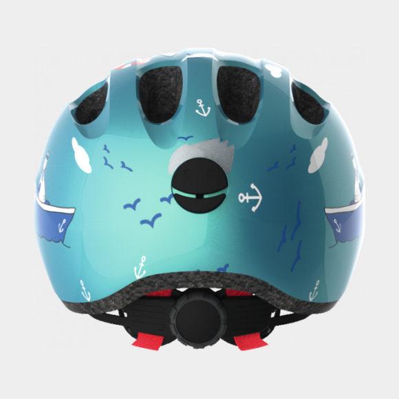 Cykelhjälm ABUS Smiley 2.0 Turquoise Sailor, Medium (50 - 55 cm)