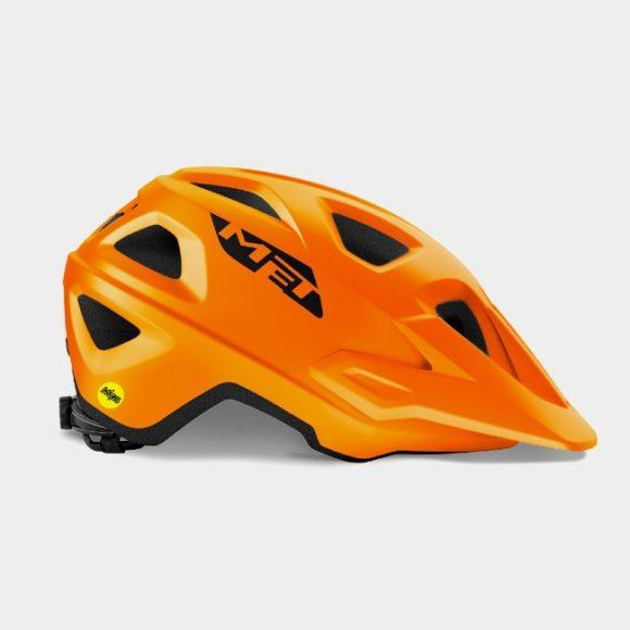 Cykelhjälm MET Echo MIPS Orange, Small/Medium (52 - 57 cm)
